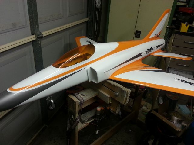 With Orange Tinted Canopy