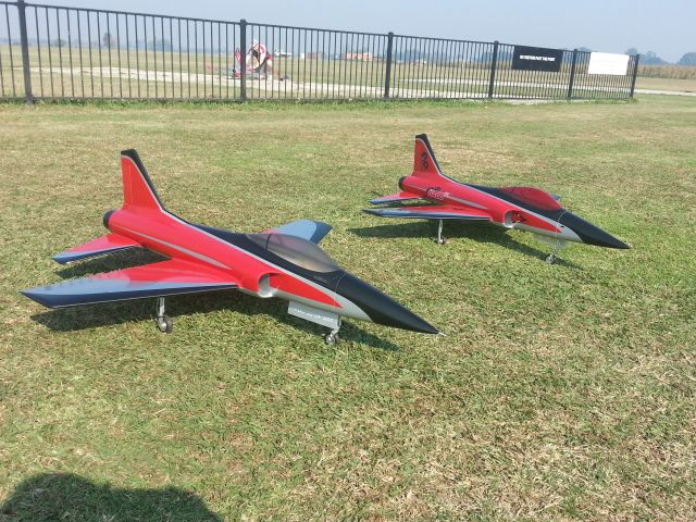 Pair Of Jetcat P20 Powered HABU32's